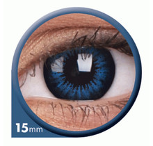 BigEyes Cool Blue 15mm Colored Contact Lenses (3 months)