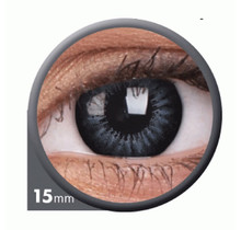 BigEyes Evening Grey 15mm Colored Contact Lenses (3 months)