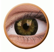 BigEyes Gorgeous Brown 14mm Colored Contact Lenses (3 months)
