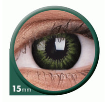 BigEyes Party Green 15mm Colored Contact Lenses (3 months)