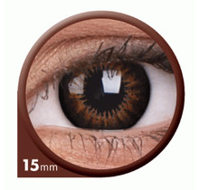 BigEyes Sweet Honey 15mm Colored Contact Lenses (3 months)