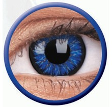 Glamour Blue 14mm Fashion Colored Contact Lenses (3 months)