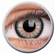 Glamour Grey 14mm Fashion Colored Contact Lenses (3 months)