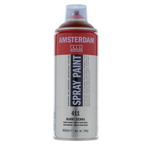 Amsterdam Acrylic Spray Paint - 411 Burnt Sienna (400ml)