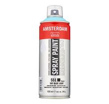 Amsterdam Acrylic Spray Paint - 551 Sky Blue Light (400ml)