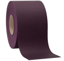 Faux Leather Aubergine