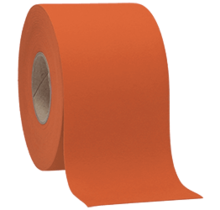 Faux Leather Orange