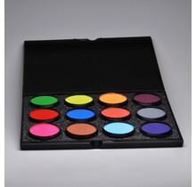 Paradise Makeup AQ - 12 Color Palette B
