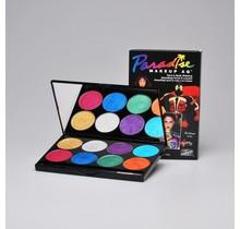 Paradise Makeup AQ - 8 Color Palette Brillant