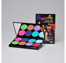 Paradise Makeup AQ - 8 Color Palette Pastel
