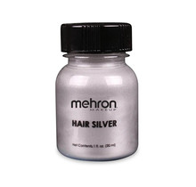 Special Effects Makeup - Hair Silver with Brush