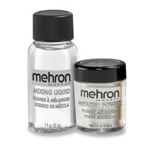 Metallic Powder - Silver with Mixing Liquid