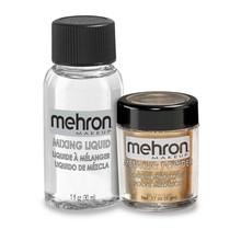 Metallic Powder - Gold with Mixing Liquid