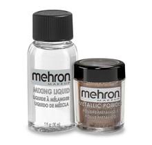Metallic Powder - Bronze with Mixing Liquid