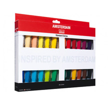 Amsterdam Acrylic Paint Set (24x20ml)