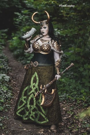 Worbla used in cosplay, theatre and costumes