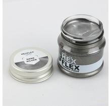 Hexflex Metallic Verf - Donker Zilver