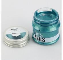 Hexflex Metallic Paint - Turquoise
