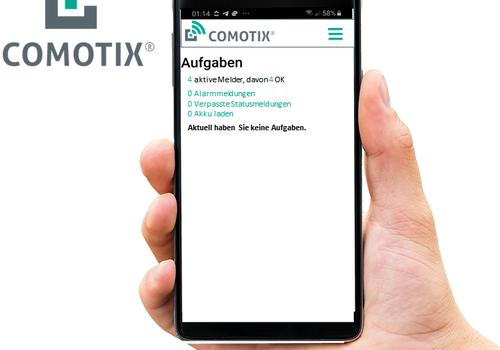 Die Comotix App