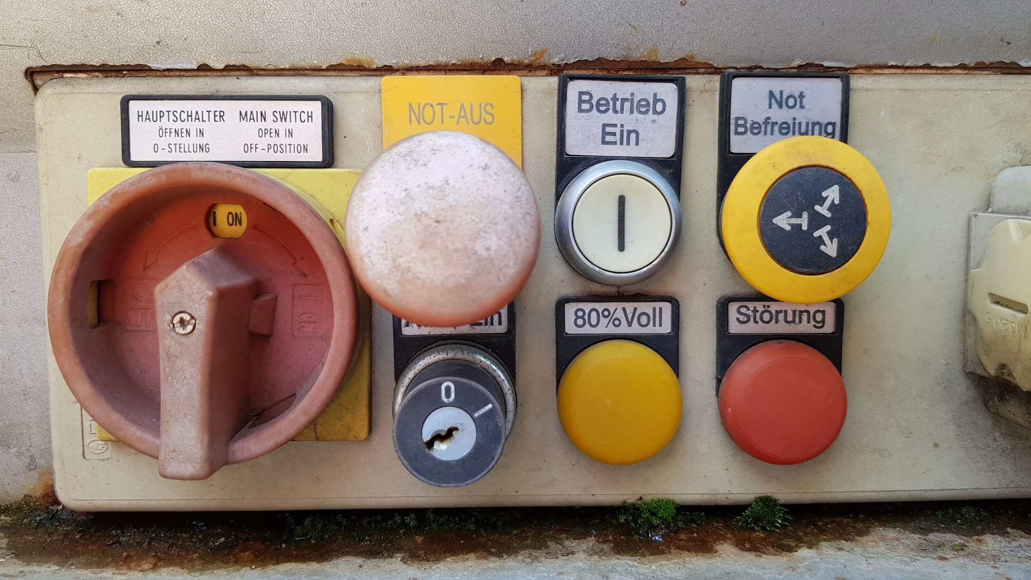 Fernüberwachung Vollmeldung Müllpresse Müllcontainer Störungsmeldung