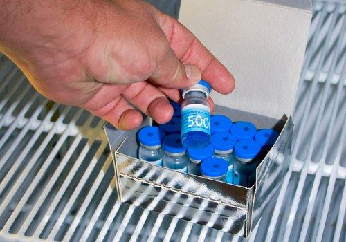 Kühlschranküberwachung Arztpraxis