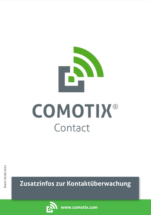Zusatzanleitung COMOTIX® Contact