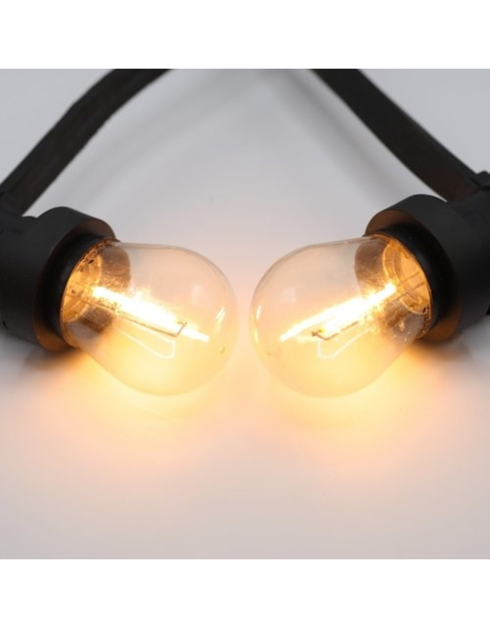 Lights guirlande Warm witte filament lampen - 1 Watt  2700K (gloeilamp)