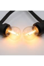 Lights guirlande Warm witte filament lampen - 3,5 Watt 2200K (kaarslicht)