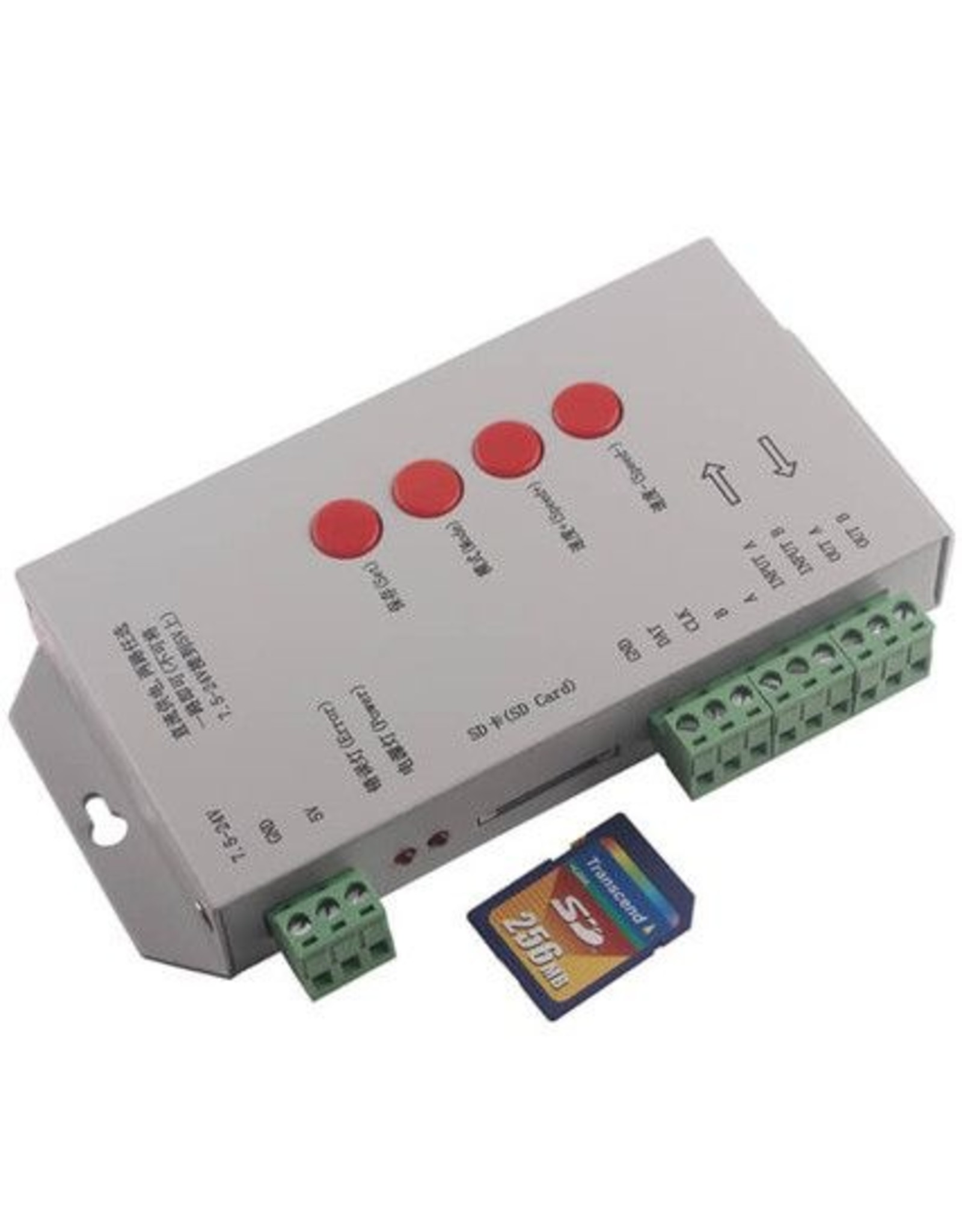 Lights T-1000s - Digitale ledstrip controller with SD card - 2048 max pixels