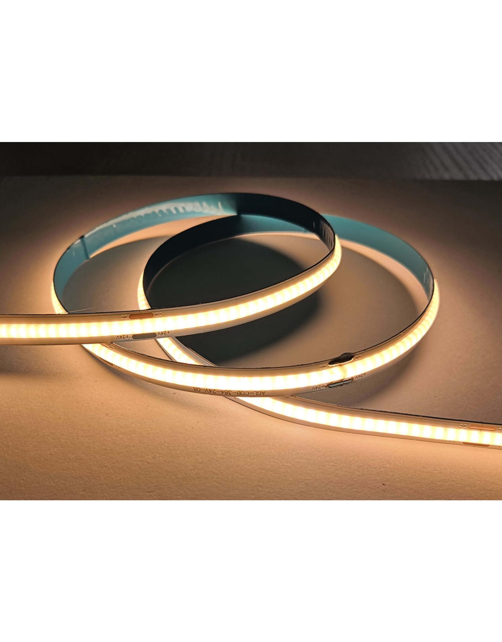 Lights COB Ledstrip 24v, 70w/5m, warm white 3000k - 1400LM - cri = 80
