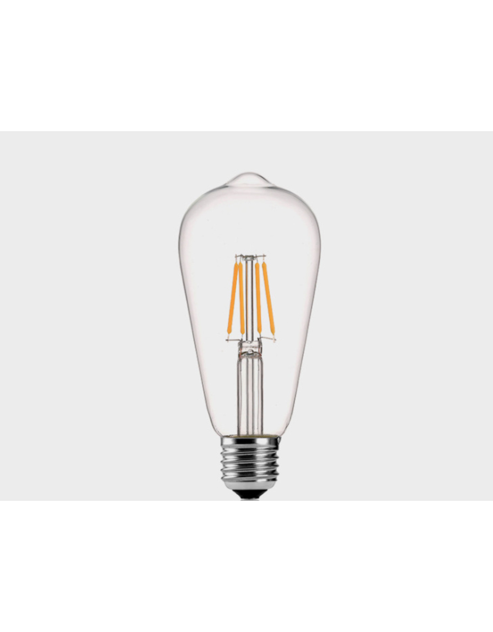 Lights ST64 - 2W - 2700K - E27 - CLEAR - 220V - DIMMABLE