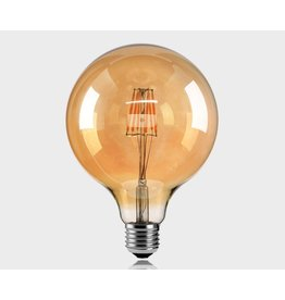 Lights G125C - 4W - 2700K - E27 - SMOKED - 220V - DIMMABLE