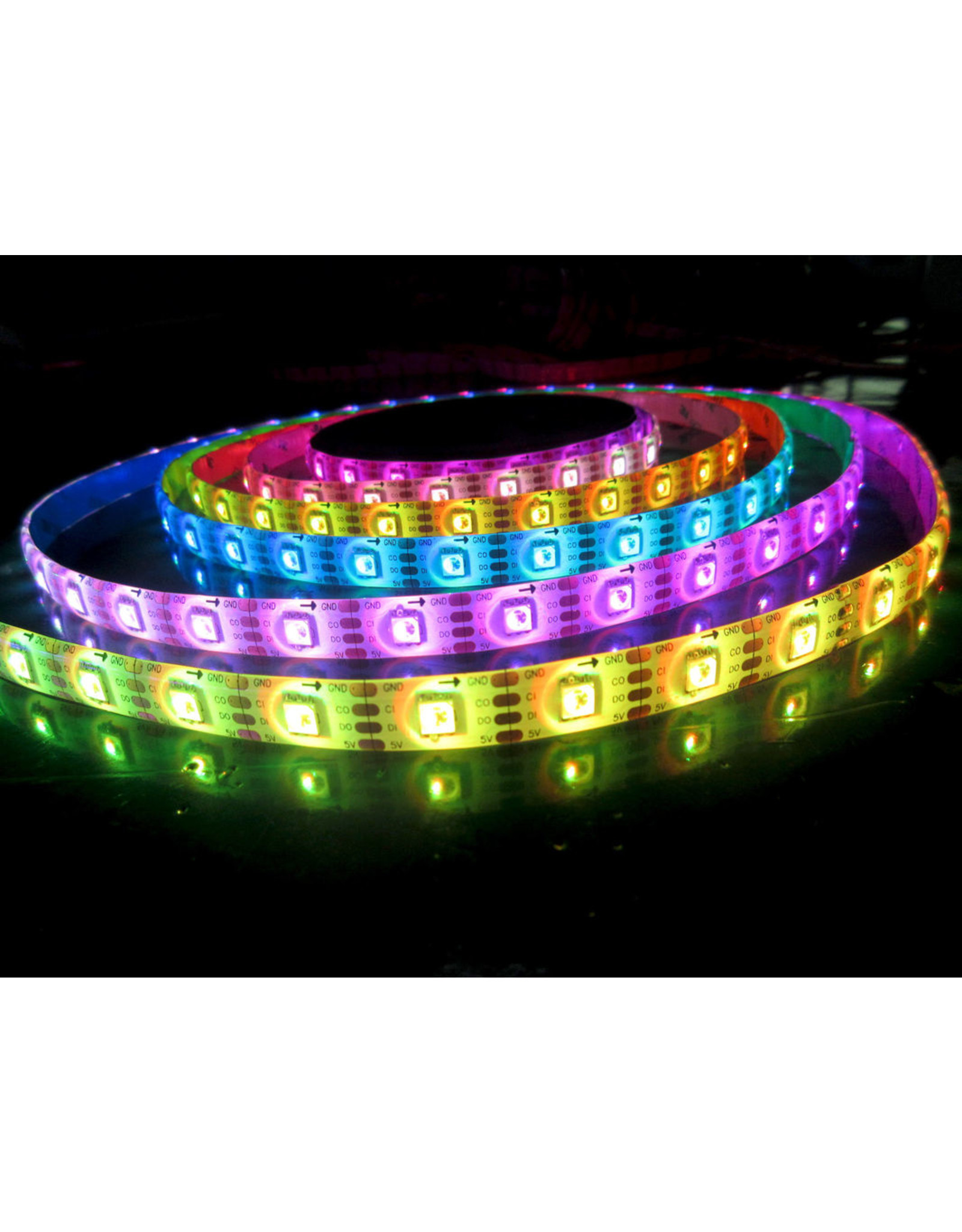 Lights Digital RGB Ledstrip - 100leds/m - IP20 - 5m - 5V