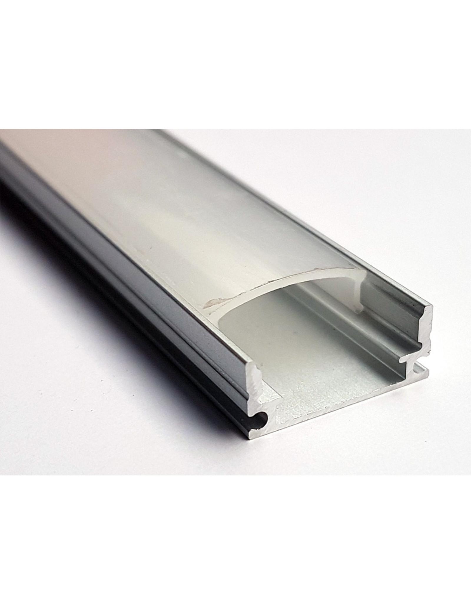 Lights U Profiel 6mm - 3 meter with plastic cover (prijs per 3 meter)
