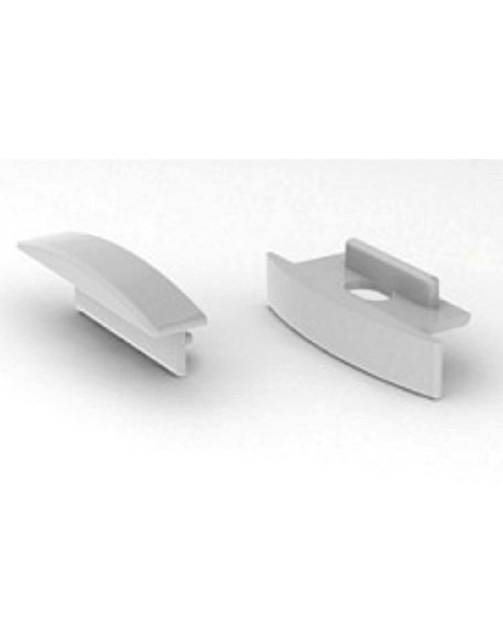 Lights Alu-profile Endcap W - 6mm - per piece