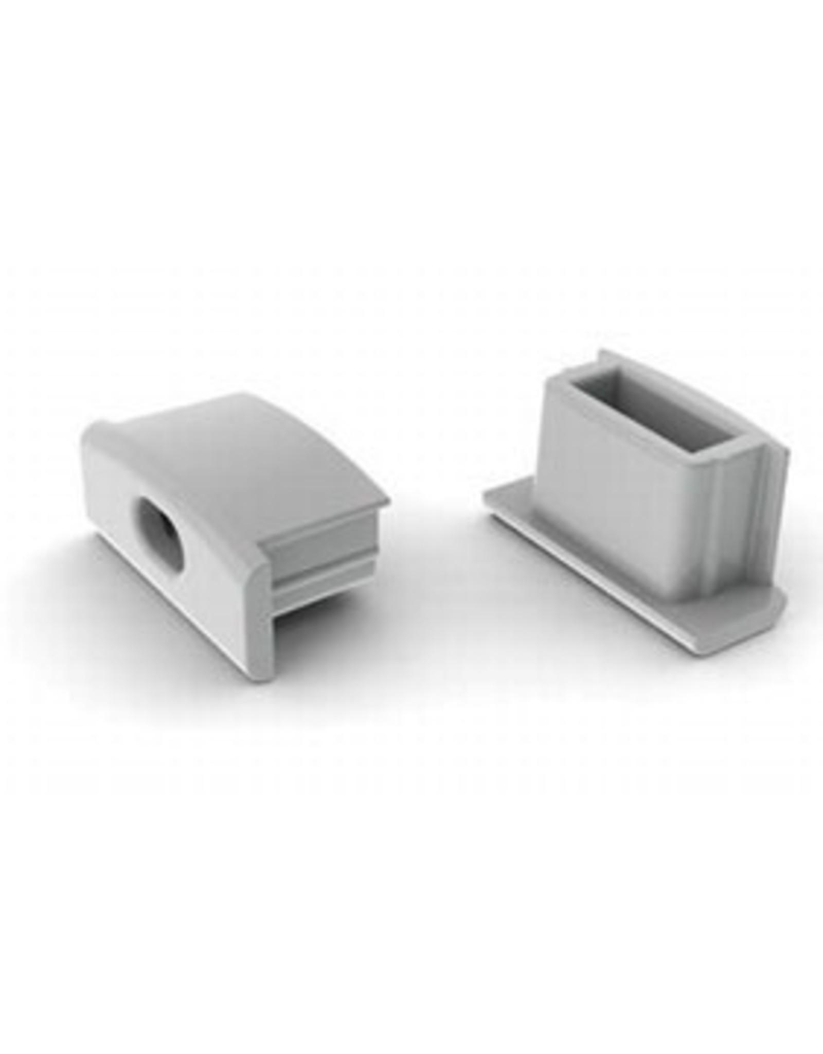 Lights Alu-profile Endcap U - 7mm - per piece