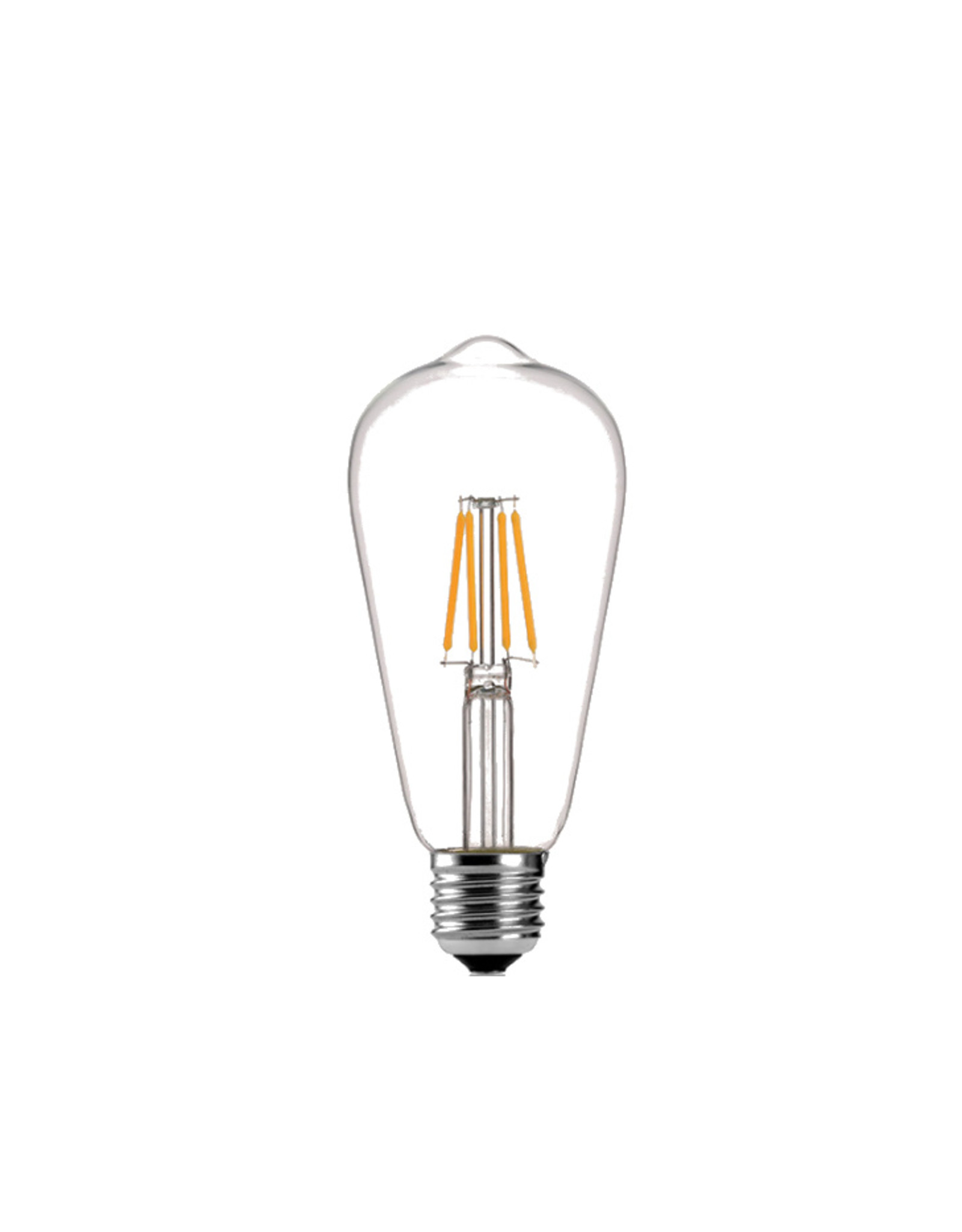 Lights ST64 - 4W - 2700K - E27 - CLEAR - 220V - DIMMABLE