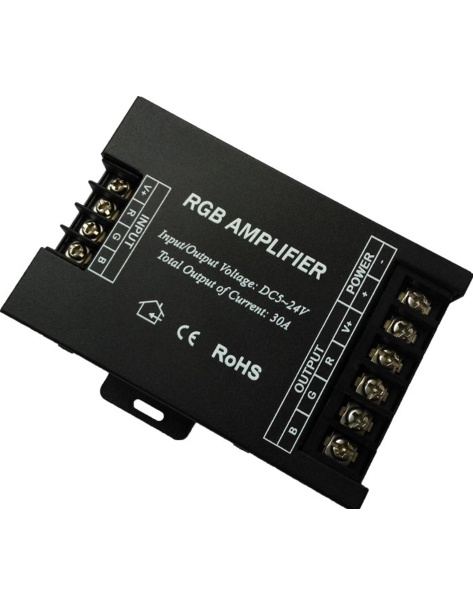 Lights RGB repeater, 2-24vdc, 3*10a