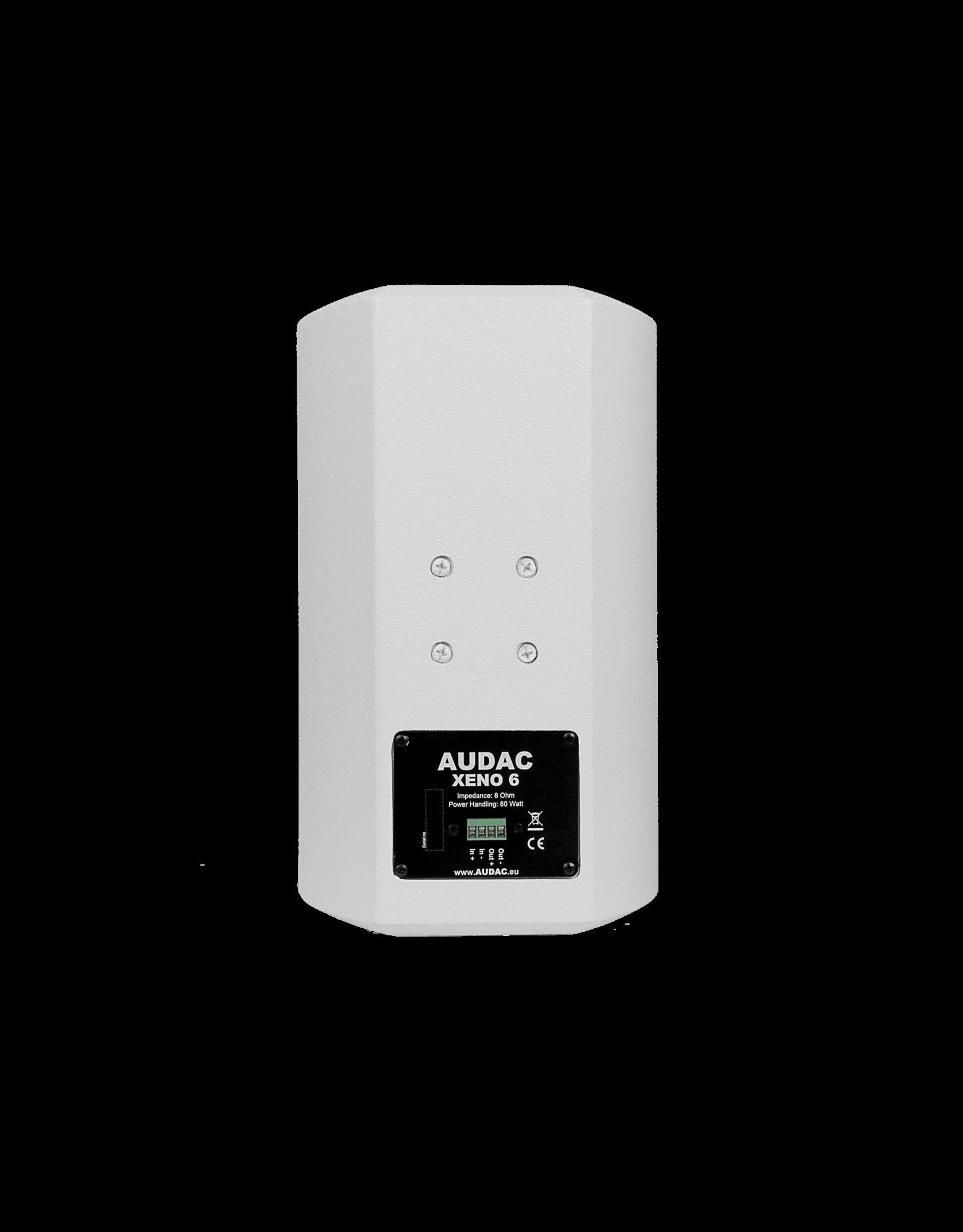 """Audac Full range speaker 6"""" Black version"""