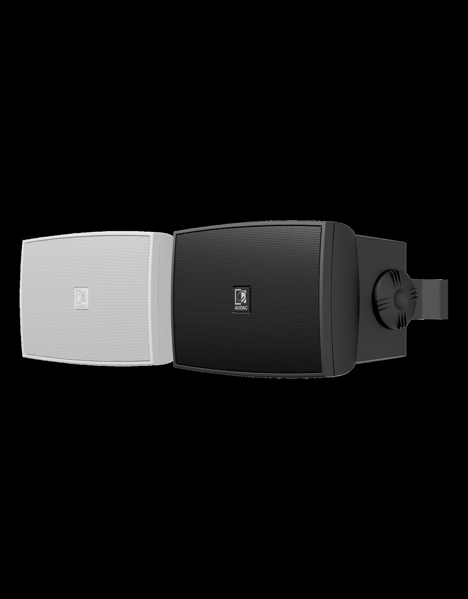 "Audac Outdoor universal wall speaker 3"" Outdoor black version"