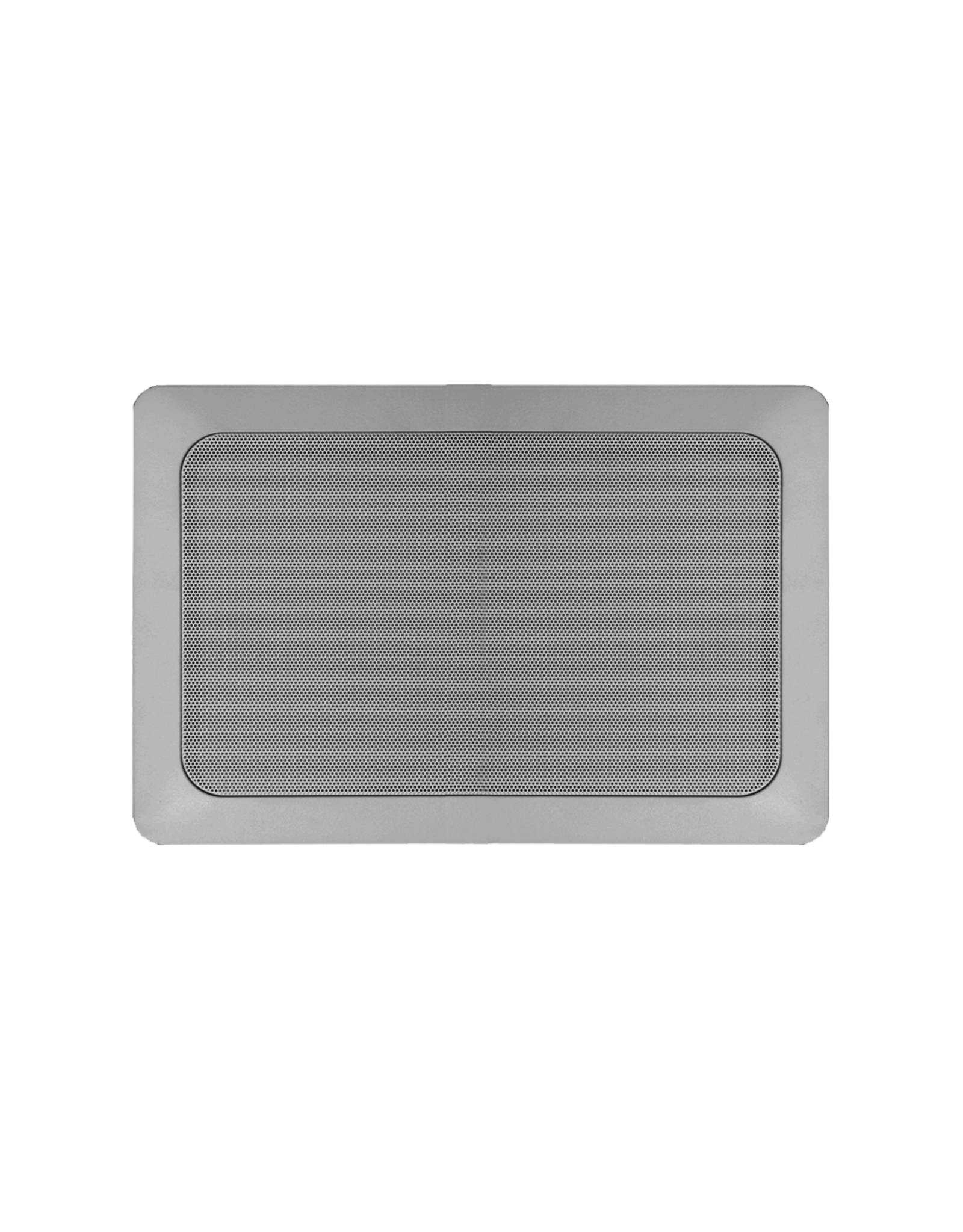 """Audac Quick fit 2-way 5 1/4"""" rectangular in-wall speaker 16 Ohm version"""