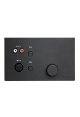 Audac Remote wall mixer for LX523 Black version