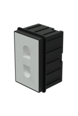 Audac In-wall box for MERO2 for concrete/brick wall