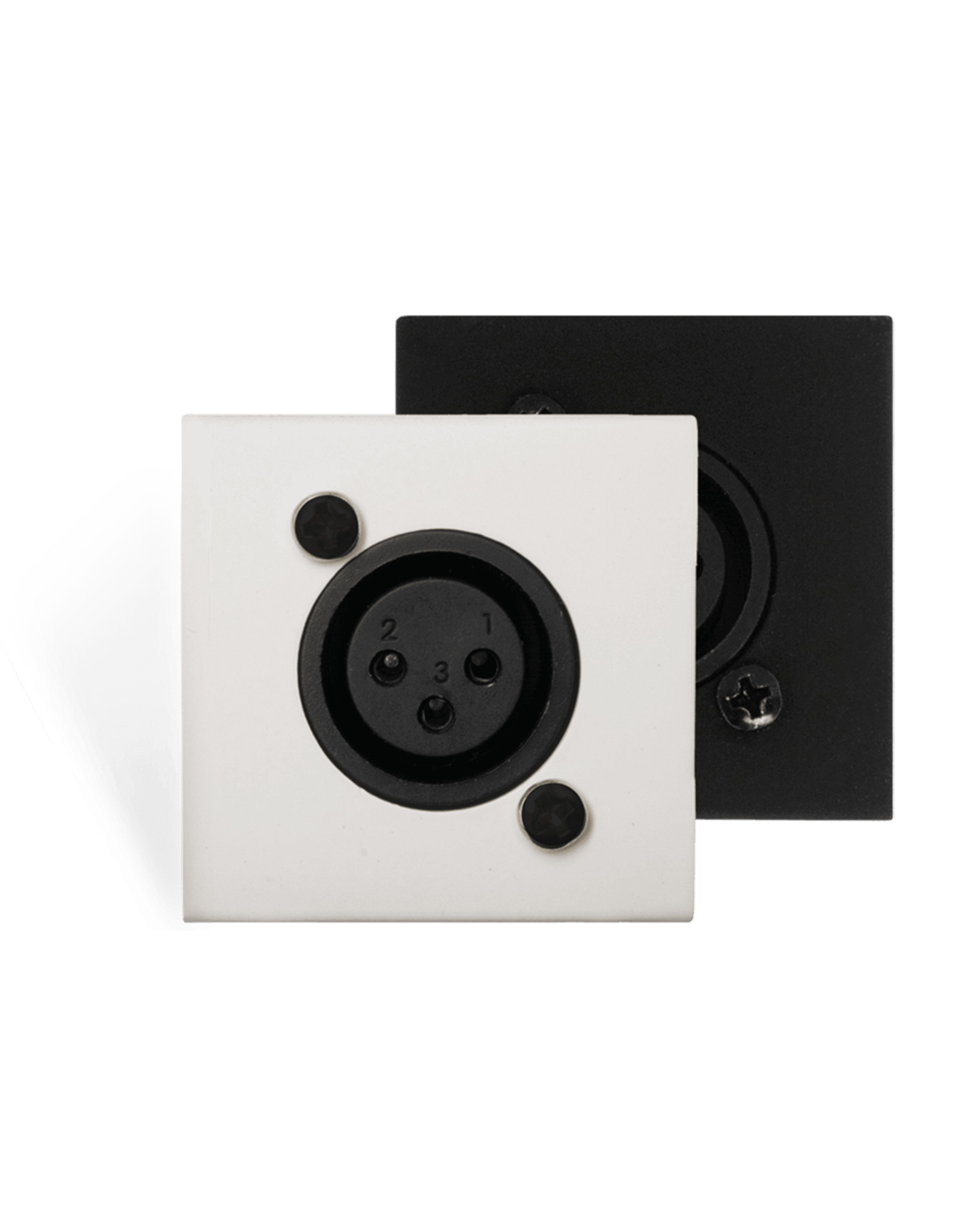 Audac Wall mic input - bticino  - rj45 White version