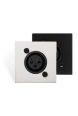 Audac Active audio transceivers XLR Wall microphone input unit (45 x 45 mm)