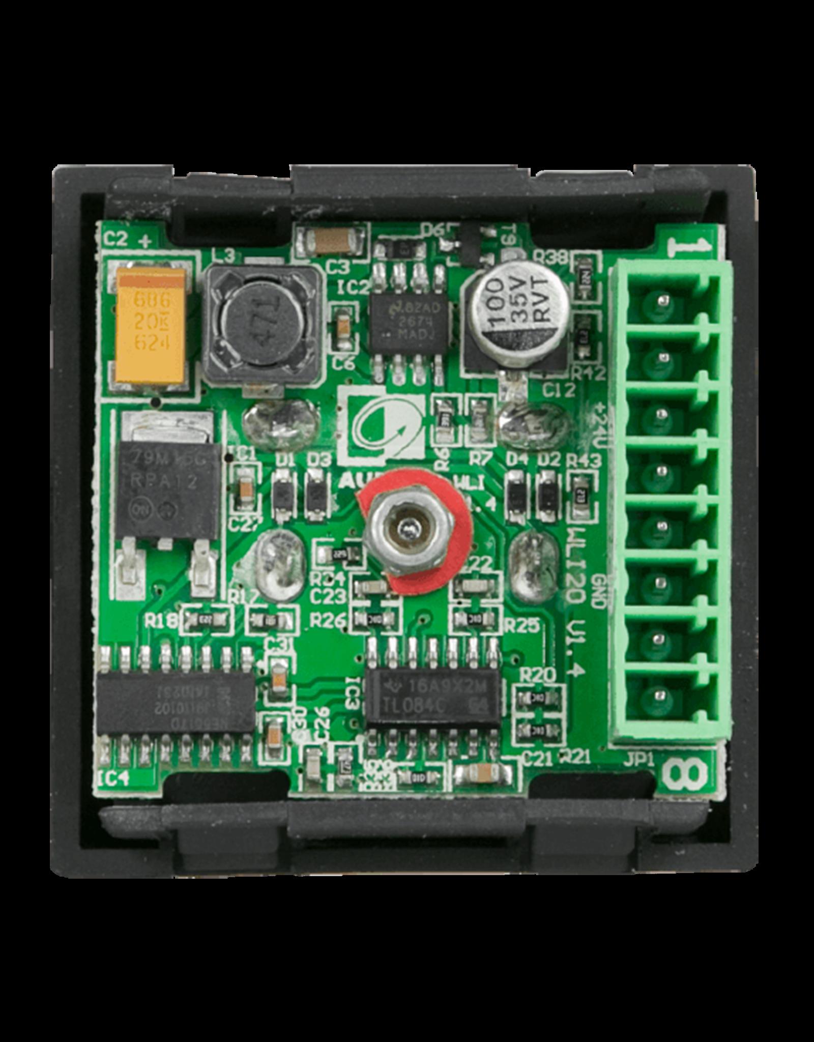 Audac Wall line input - 45x45mm - terminal block Wall line input - 45x45 mm- terminal block - black
