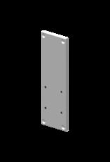 Audac Wall bracket plate for XENO/VEXO speaker White version