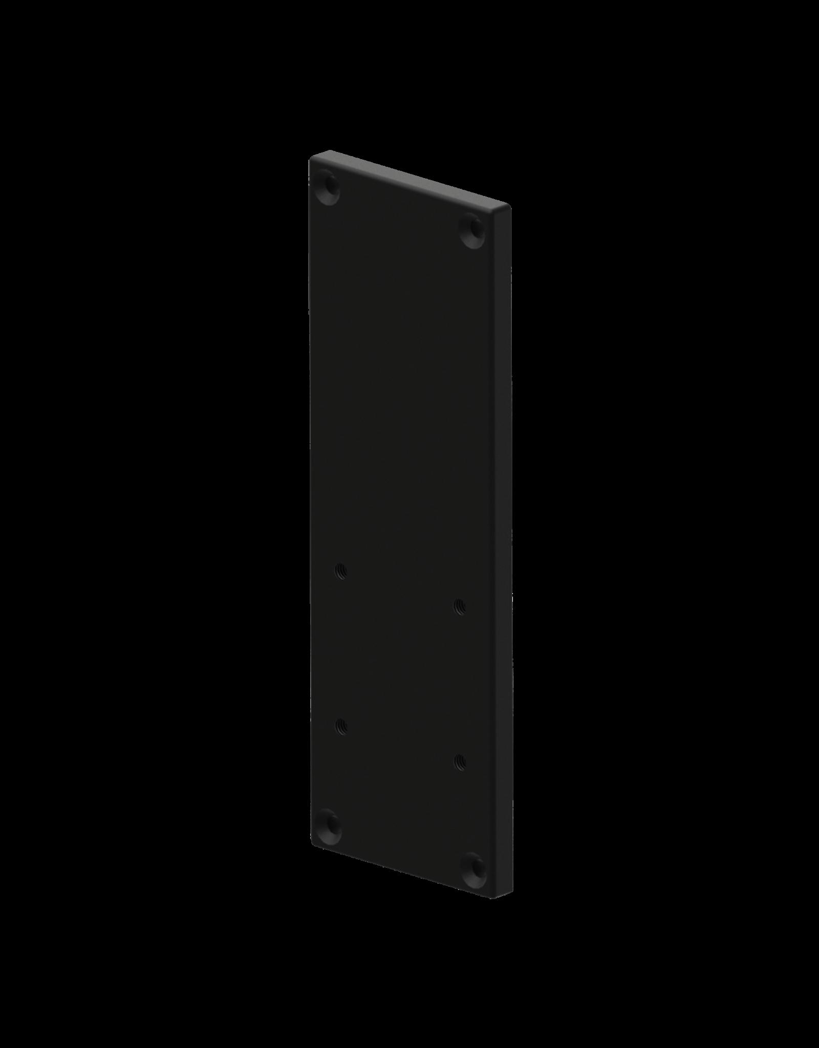 Audac Wall bracket plate for XENO/VEXO speaker Black version