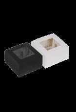 Audac Surface mount box single 45 x 45 mm White version