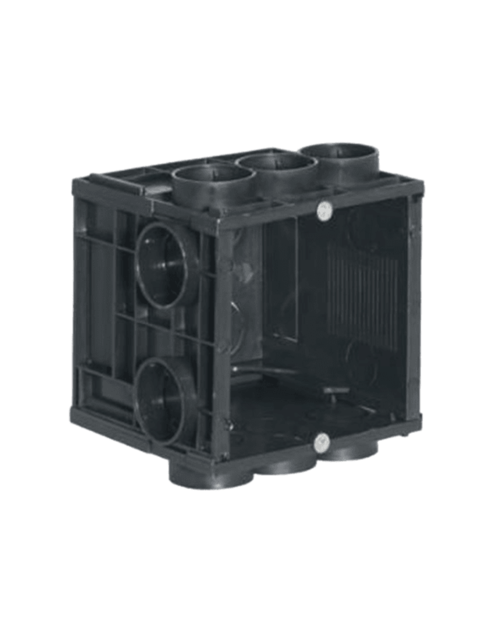 Audac Flush mount box for 45 x 45 mm wall panel - Solid wall